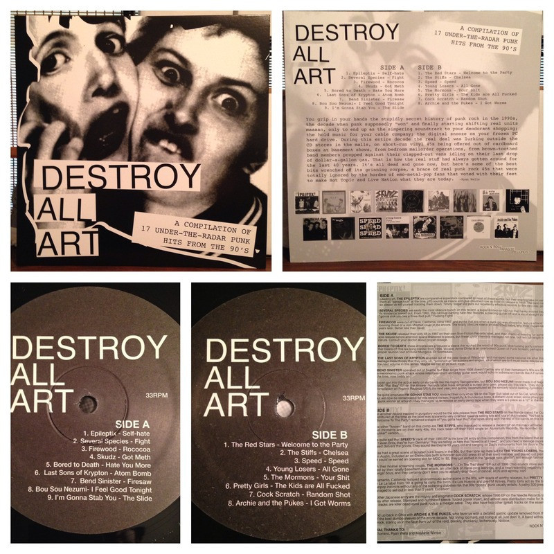 Destroy All Art Montage